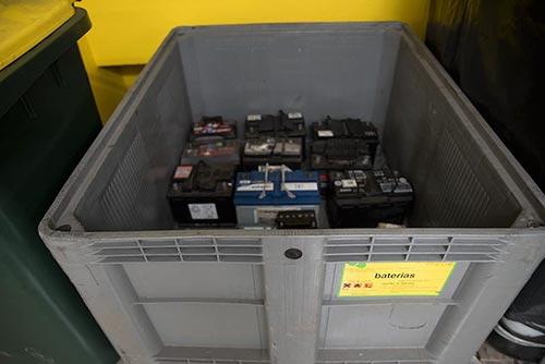 reciclagem baterias